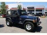 2006 Midnight Blue Pearl Jeep Wrangler X 4x4 #32177533