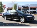 2002 Nighthawk Black Pearl Honda Accord SE Sedan #32177535