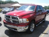 2010 Inferno Red Crystal Pearl Dodge Ram 1500 Big Horn Crew Cab 4x4 #32178445