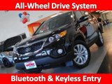 2011 Ebony Black Kia Sorento EX AWD #32177858