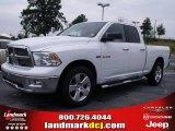 2010 Stone White Dodge Ram 1500 Big Horn Quad Cab 4x4 #32177879