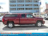 2009 Deep Ruby Red Metallic Chevrolet Silverado 1500 LTZ Extended Cab 4x4 #32177895