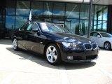 2008 Jet Black BMW 3 Series 328i Coupe #32177918