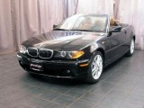 2004 Silver Grey Metallic BMW 3 Series 330i Convertible #32177604