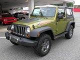 2010 Rescue Green Metallic Jeep Wrangler Sport Mountain Edition 4x4 #32178514