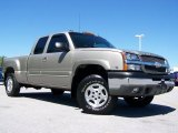 2003 Light Pewter Metallic Chevrolet Silverado 1500 Z71 Extended Cab 4x4 #32177616