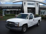 2003 Summit White Chevrolet Silverado 1500 Regular Cab 4x4 #32177940