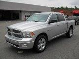 2010 Bright Silver Metallic Dodge Ram 1500 Big Horn Crew Cab 4x4 #32178523