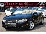2008 Brilliant Black Audi A4 2.0T quattro Cabriolet #32178293