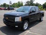 2010 Black Chevrolet Silverado 1500 LT Crew Cab 4x4 #32178534