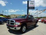 2003 Dark Garnet Red Pearl Dodge Ram 1500 SLT Quad Cab 4x4 #32177965