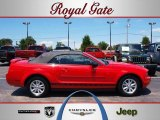 2006 Torch Red Ford Mustang V6 Premium Convertible #32177642