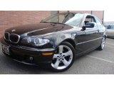 2004 Jet Black BMW 3 Series 325i Coupe #32177979