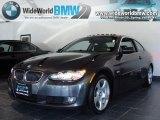 2008 Sparkling Graphite Metallic BMW 3 Series 328xi Coupe #32177698