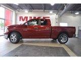 2010 Inferno Red Crystal Pearl Dodge Ram 1500 Big Horn Quad Cab #32177988