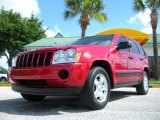 2006 Inferno Red Crystal Pearl Jeep Grand Cherokee Laredo #32178356