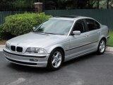 1999 Titanium Silver Metallic BMW 3 Series 323i Sedan #32177778