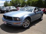 2005 Windveil Blue Metallic Ford Mustang V6 Deluxe Coupe #32177787