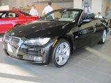 2010 Jet Black BMW 3 Series 335i Convertible #32268934