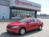 2008 Barcelona Red Metallic Toyota Camry LE #32268645