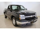 2004 Black Chevrolet Silverado 1500 LS Regular Cab #32269176
