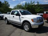 2010 Oxford White Ford F150 XLT SuperCab 4x4 #32268654