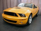 2007 Grabber Orange Ford Mustang Shelby GT500 Convertible #32268420
