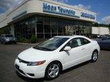 2007 Taffeta White Honda Civic EX Coupe #32268720