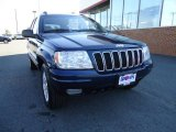 2002 Patriot Blue Pearlcoat Jeep Grand Cherokee Limited 4x4 #32269274