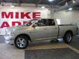2010 Light Graystone Pearl Dodge Ram 1500 Big Horn Quad Cab #32268751