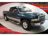 1999 Emerald Green Pearl Dodge Ram 1500 SLT Extended Cab #32268565