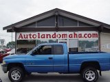 2001 Intense Blue Pearl Dodge Ram 1500 SLT Club Cab 4x4 #32268792