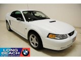 2000 Crystal White Ford Mustang GT Coupe #32268794