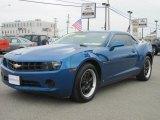 2010 Aqua Blue Metallic Chevrolet Camaro LS Coupe #32269385