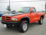 2002 Dodge Dakota Regular Cab 4x4 Data, Info and Specs