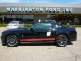 2011 Ebony Black Ford Mustang Shelby GT500 SVT Performance Package Coupe #32268877