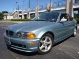 2002 Grey Green Metallic BMW 3 Series 325i Coupe #32341072