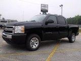 2010 Black Chevrolet Silverado 1500 LS Crew Cab #32340897