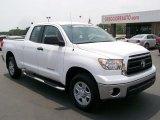 2010 Super White Toyota Tundra Double Cab 4x4 #32340971