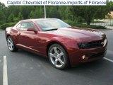 2010 Red Jewel Tintcoat Chevrolet Camaro LT Coupe #32341179