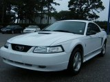 2001 Oxford White Ford Mustang V6 Coupe #32341200