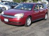 2005 Sport Red Metallic Chevrolet Malibu Maxx LS Wagon #32340638