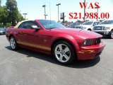 2006 Redfire Metallic Ford Mustang GT Premium Convertible #32340821