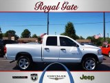 2007 Bright White Dodge Ram 1500 Big Horn Edition Quad Cab 4x4 #32340683