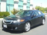 2010 Crystal Black Pearl Acura TSX V6 Sedan #32340692