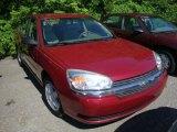 2005 Sport Red Metallic Chevrolet Malibu LS V6 Sedan #32340841