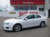 2010 White Suede Ford Fusion SEL #32380303