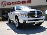 2007 Bright White Dodge Ram 1500 SLT Quad Cab 4x4 #32380469