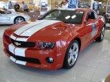 2010 Inferno Orange Metallic Chevrolet Camaro SS Coupe Indianapolis 500 Pace Car Special Edition #32380217