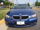 2007 Montego Blue Metallic BMW 3 Series 328xi Wagon #32391096